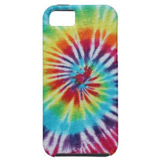 Espiral del arco iris iPhone 5 protectores