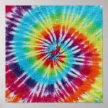 Espiral del arco iris posters
