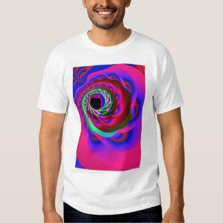 espiral del chakra del corazón playera