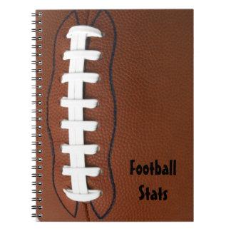 Espiral del fútbol - cuaderno encuadernado
