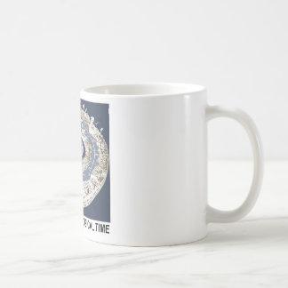 Espiral del tiempo geológico espiral de la histor taza de café