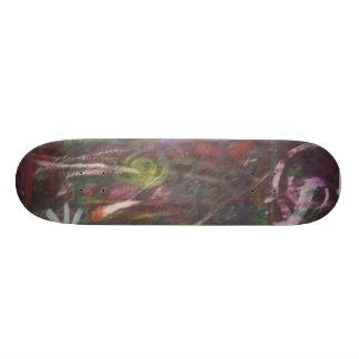 espiral del tiroteo skate board