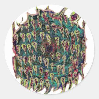 Espiral del vórtice a la versión del trullo del in
