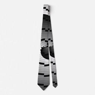 Espiral doble de Yin Yang Corbata