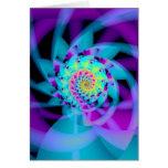 espiral embrionario tarjeta
