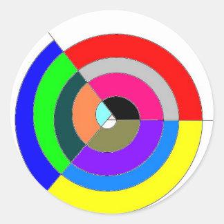 espiral_falsa_dextrogira pegatina redonda