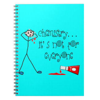 Espiral importante del cuaderno de la química - lí