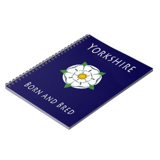 Espiral llevado y criado de Yorkshire - cuaderno e