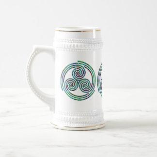 Espiral multi - Stein #1 Jarra De Cerveza