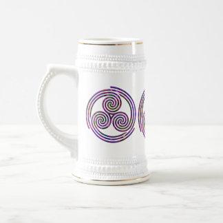 Espiral multi - Stein #4 Tazas De Café