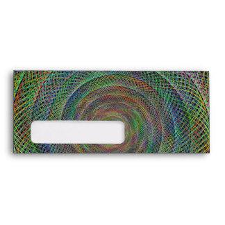 Espiral multicolor del fractal sobres