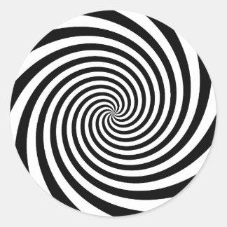Espiral negro etiquetas