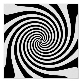 Espiral negro poster