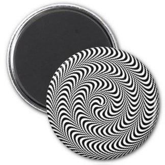 Espiral óptico plausible del bloque imanes