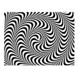 Espiral óptico plausible del bloque postales