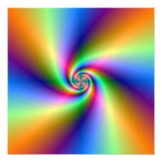 Espiral psicodélico de cuatro vientos fotografía