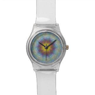 Espiral psicodélico reloj