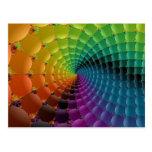espiral retro tarjetas postales