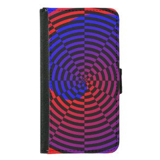 Espiral rojo y azul de Kenneth Yoncich