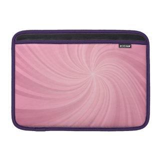 Espiral rosado funda  MacBook