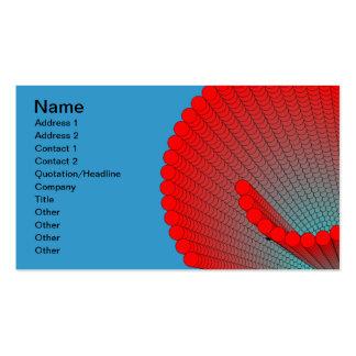 espiral-SHELL Tarjetas De Visita