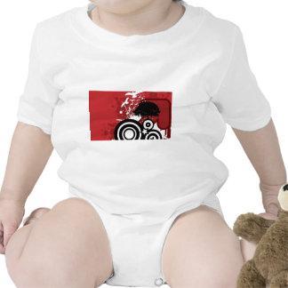 Espiral y diseño del chapoteo camiseta