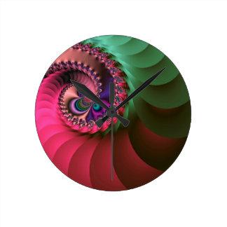 espirales coloreados fractal relojes