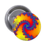 Espirales coloridos del fractal: pin