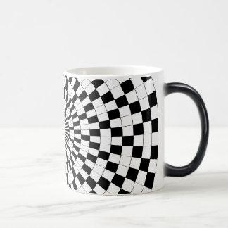 Espirales contrarios Morphing la taza