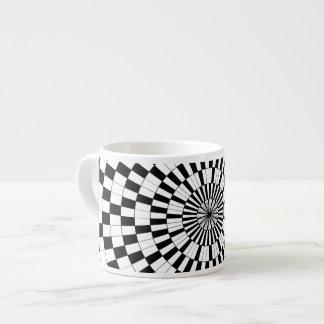 Espirales contrarios taza espresso