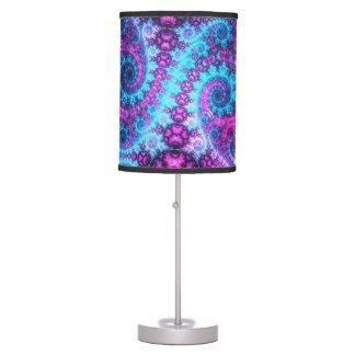 Espirales de Blurple - lámpara de mesa