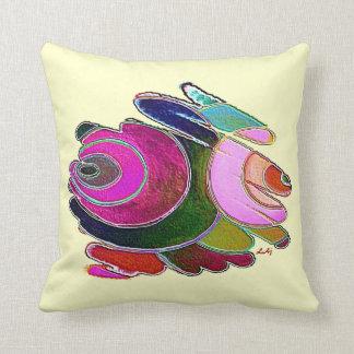 Espirales de Frigg del rosa de la almohada de tiro