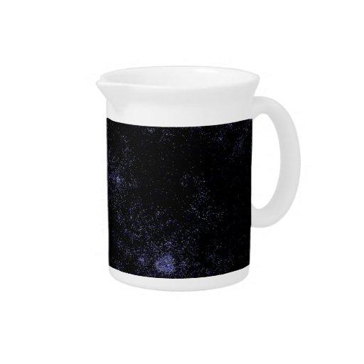 Espirales del campo de estrella jarra