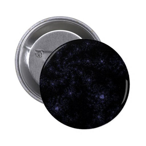 Espirales del campo de estrella pin redondo 5 cm