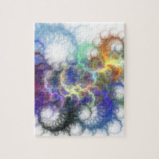 Espirales del fractal puzzle