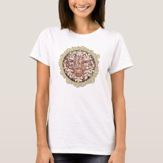 Espirales pictos Greenman - oro - la camisa de las