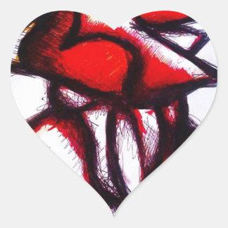 Espirit Avion Heart Sticker