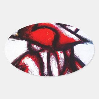 Espirit Avion Oval Sticker