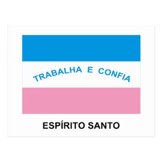 Espírito Santo, Brazil Flag Postcard
