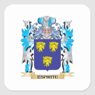 Espiritu Coat of Arms - Family Crest Stickers