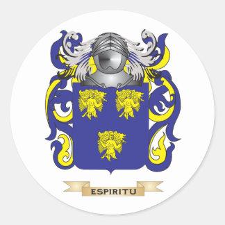 Espiritu Coat of Arms Round Stickers