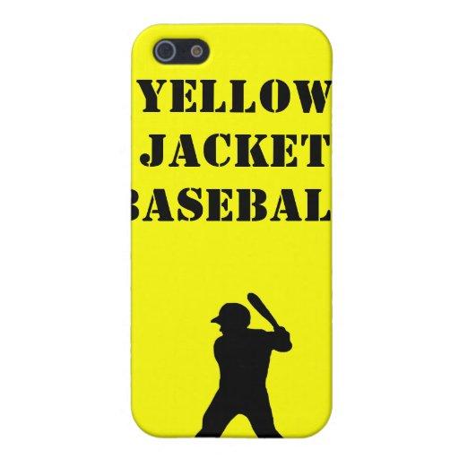 Espíritu de equipo del béisbol iPhone 5 coberturas