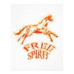 Espíritu libre flyer a todo color