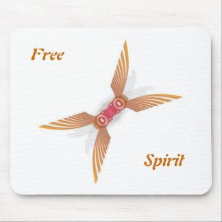Espíritu libre alfombrilla de ratón