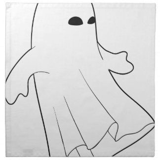 """Espíritu necrófago de Halloween "" Servilletas"