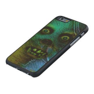 Espíritu necrófago horrible funda de iPhone 6 carved® de arce