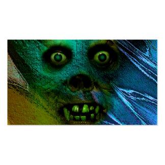 Espíritu necrófago horrible tarjetas de visita