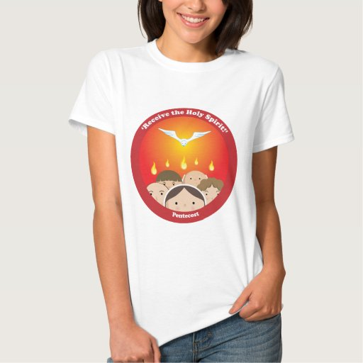 Espíritu Santo Pentecost T Shirts
