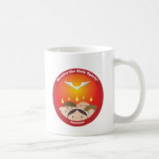 Espíritu Santo Pentecost Taza De Café