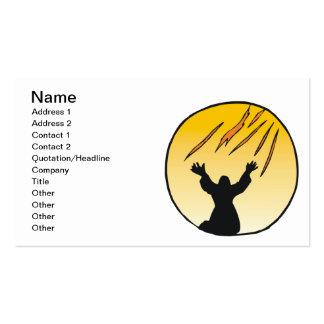 Espíritu santo tarjetas de visita